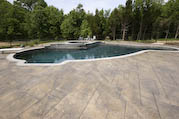 Stamped Pool Deck Photo